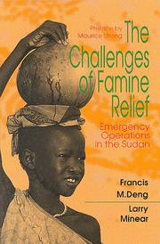 Cover of: The challenges of famine relief by Francis Mading Deng