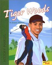 Cover of: Tiger Woods by Joanne Mattern