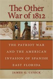 Cover of: The Other War of 1812 by James G. Cusick