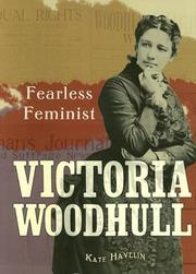 Cover of: Victoria Woodhull by Kate Havelin