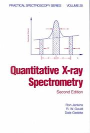 Cover of: Quantitative x-ray spectrometry by Ron Jenkins