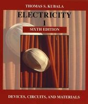 Cover of: Electricity 1 by Thomas S. Kubala