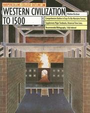Cover of: Western Civilization to 1500 by Walther Kirchner