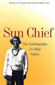 Cover of: Sun chief by Don C. Talayesva