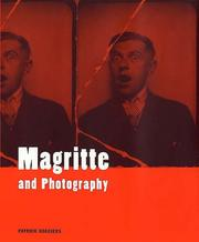 Cover of: Magritte and photography by Patrick Roegiers