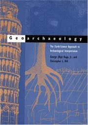 Cover of: Geoarchaeology by George Robert Rapp