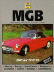 Cover of: MGB by John Harold Haynes
