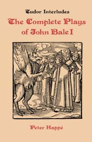 Cover of: Plays by Bale, John