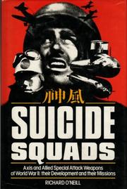 Cover of: Suicide squads by Richard O'Neill