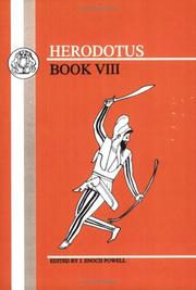 Cover of: Herodotus, Book VIII (Classical Test Series, Book VIII) by Herodotus