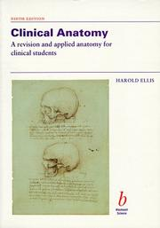Cover of: Clinical anatomy by Harold Ellis