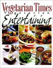 Cover of: Vegetarian times vegetarian entertaining by Jay Solomon