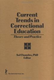 Cover of: Current Trends in Correctional Education by Sol Chaneles