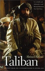 Cover of: Taliban by Ahmed Rashid