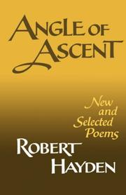 Cover of: Angle of ascent by Robert Earl Hayden