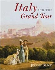 Cover of: Italy and the grand tour by Black, Jeremy.