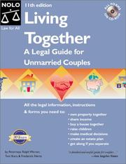 Cover of: Living together by Toni Lynne Ihara