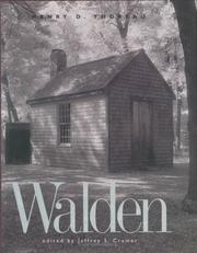 Cover of: Walden by Henry David Thoreau