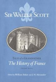 Cover of: Tales of a grandfather by Sir Walter Scott
