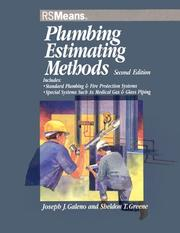 Cover of: Plumbing estimating methods by Joseph J. Galeno