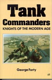 Cover of: Tank commanders by George Forty