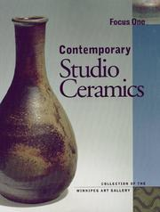 Cover of: Contemporary studio ceramics by Winnipeg Art Gallery.