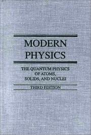 Cover of: Modern physics by Robert L. Sproull