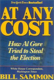 Cover of: At any cost by Bill Sammon