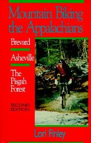 Cover of: Mountain biking the Appalachians by Lori Finley