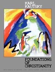 Cover of: Foundations of Christianity by Karl Kautsky