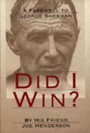 Cover of: Did I Win? by Joe Henderson