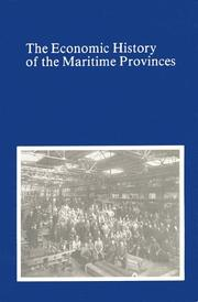 Cover of: The economic history of the Maritime Provinces by S. A. Saunders