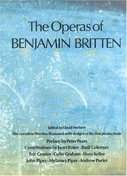 The Operas of Benjamin Britten