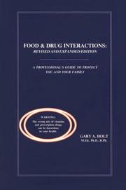 Cover of: Food and Drug Interactions by Gary A. Holt