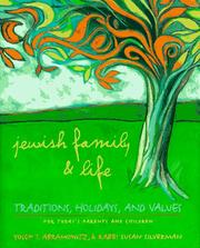Cover of: Jewish family &amp; life by Yosef I. Abramowitz