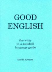 Cover of: Good English by David Arscott