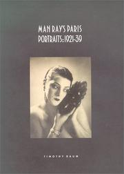 Cover of: Man Ray's Paris Portraits by Timothy Baum