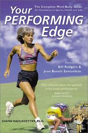 Cover of: Your Performing Edge by JoAnn Dahlkoetter