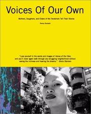 Cover of: Voices of our own by Nancy Deutsch