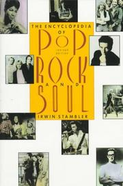 Cover of: Encyclopedia of pop, rock & soul by Irwin Stambler