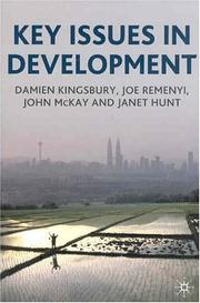 Cover of: Key Issues in Development by Damien Kingsbury