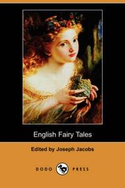 Cover of: English Fairy Tales by Joseph Jacobs