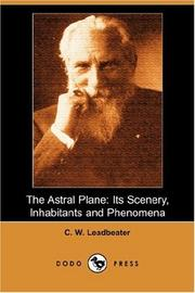 Cover of: Astral Plane by Charles Webster Leadbeater