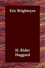 Cover of: Eric Brighteyes by H. Rider Haggard