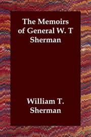 Cover of: Memoirs of General W.T. Sherman by William T. Sherman
