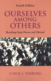 Cover of: Ourselves among others by Carol J. Verburg
