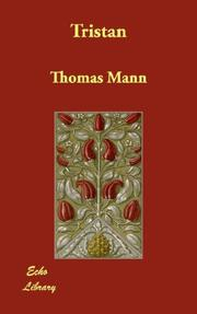 Cover of: Tristan by Thomas Mann