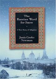 Cover of: The Russian Word for Snow by Janis Cooke Newman