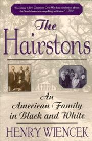 Cover of: The Hairstons by Henry Wiencek