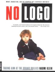 Cover of: No Logo by Naomi Klein